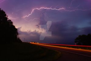 Lightning Crashes by cecphotography