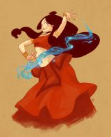 Fire Nation Katara by cypritree