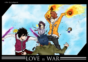 LOVE is WAR by linkzerx9