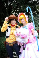 Woody and Bo Beep by Des-Henkers-Braut