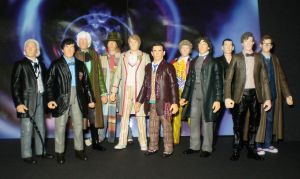 The 11 Doctors by CyberDrone
