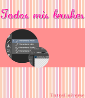 Todos mis brushes by FernitaHoran