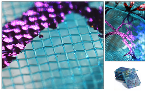 Fun with Macro - Organza Bag by Seralunai