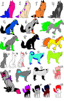 Mixed adopts 6 by TwilightLuv10