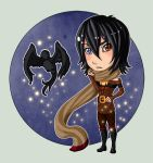 GR: Chibi Cassidy Raven by TouchedVenus