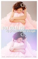 Soft Violet Psd by graphicavita