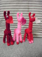 Lovely Love Llamas by CrochetHyperbole