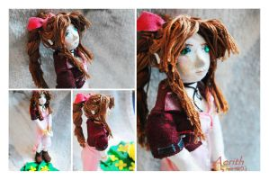 Aerith Gainsborough by martek97