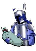 Jango and Son by cassmeister