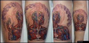 Alex Grey sleeve starts WIP by grimmy3d