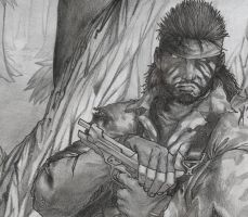 The Preview to MGS 3 fanart... by MadTincho