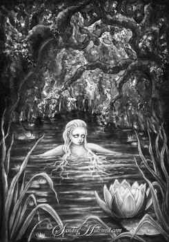Water nymph by SandraHultsved