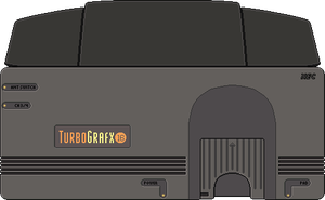 Turbo Grafx 16 by BLUEamnesiac
