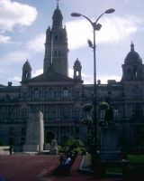 Glasgow - George Square by Fionacat