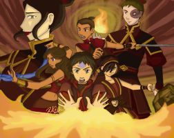 AtLA - Book 3 Fire - colored by river-bird