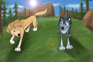 Alpha and Omega Race by Fang-Angel-of-Death