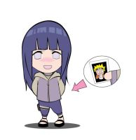 Hinata's Secret Photo by niwre-san