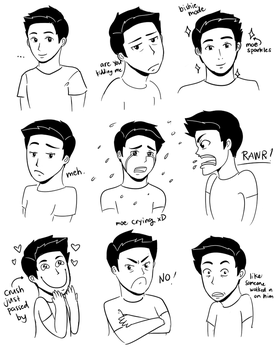 Expressions Exercise by glaelion