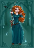 Princess Merida by Kinky-chichi