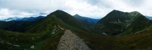 The Tatra Mountains by wahadlowy