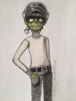 Phase 3 Murdoc by BaileyKilljoy