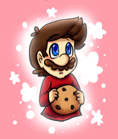 collab: cookie by MariobrosYaoiFan12
