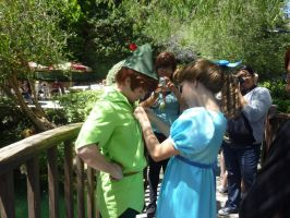 DISNEYLAND: Peter + Wendy tie the knot by Tehodda