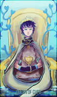 DH: [E5] Queen of Cups by kolo-dragon