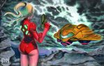 Samus Aran by ActionHankBeard