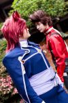 Tales of Symphonia- Lloyd and Kratos by twinfools