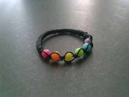 Neon Rainbow Ring by RevampLife