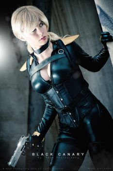 Team 7 - Black Canary - New 52 - DC Comics by FioreSofen