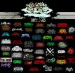 BRUTAL LOGOS 2013 by PiTY91