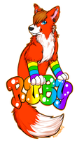 Comission: Ruby Badge by KitsuneRAWR4