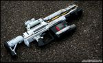 Cell-Powered Heavy Blaster Finished by JohnsonArms