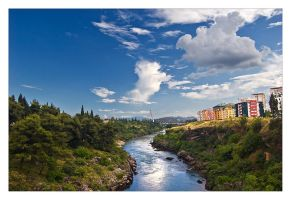 Moraca river by Grofica