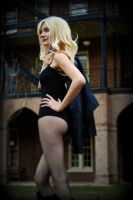 Black Canary: Over the Shoulder by musableCOSPLAY