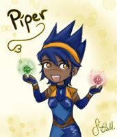 Storm Hawks - Chibi Piper by Knorke-chan