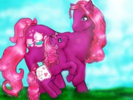 My Little Pony... LOVE THEM by Honeytail
