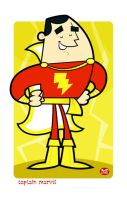 Captain Marvel... by Montygog