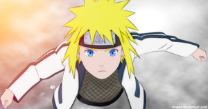 Minato, when he was young. by muaet