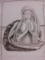 Still Life Thumbnail Sketch - Daughter of Zion by littlewaysoul