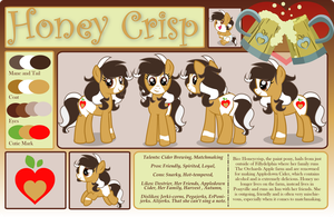 GeneralDurandal Comm. Honey Crisp Ref Sheet Gift by benybing