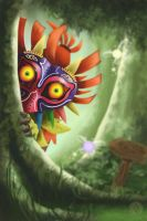 The Skull Kid by Reillyington86