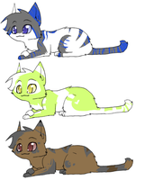 Adoptables 5 points each by pichuspokeball