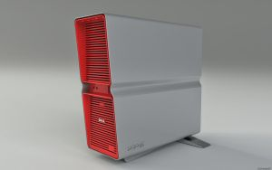XPS red Final 3D by 3DEricDesign