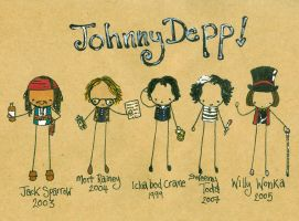 The Marvellous Johnny Depp by Pinkie-Perfect
