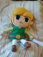 Toon Link plush by TheLoneWeegee