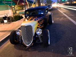 HotRod on Main St by Swanee3