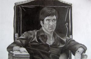 Tony Montana - Scarface by MartijnPipoo